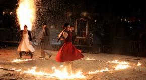 Danse et feu : un mélange explosif