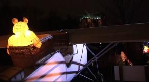 Metz sème les lanternes sur son Sentier