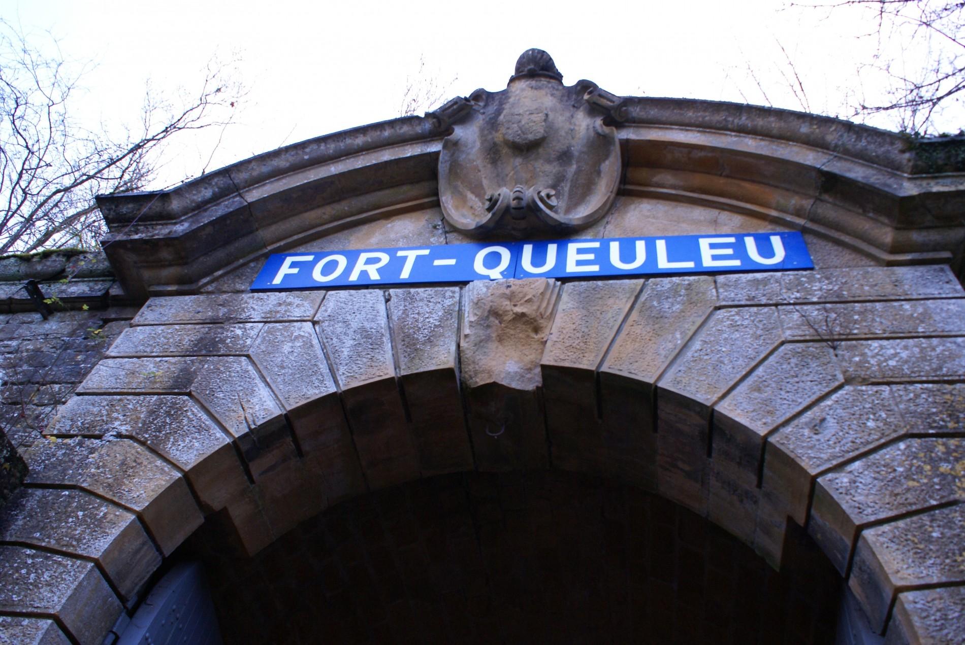L'entrée du Fort de Queuleu