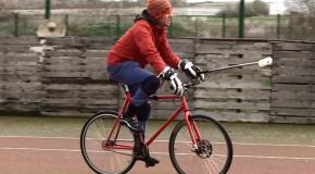 Du polo mais à vélo !