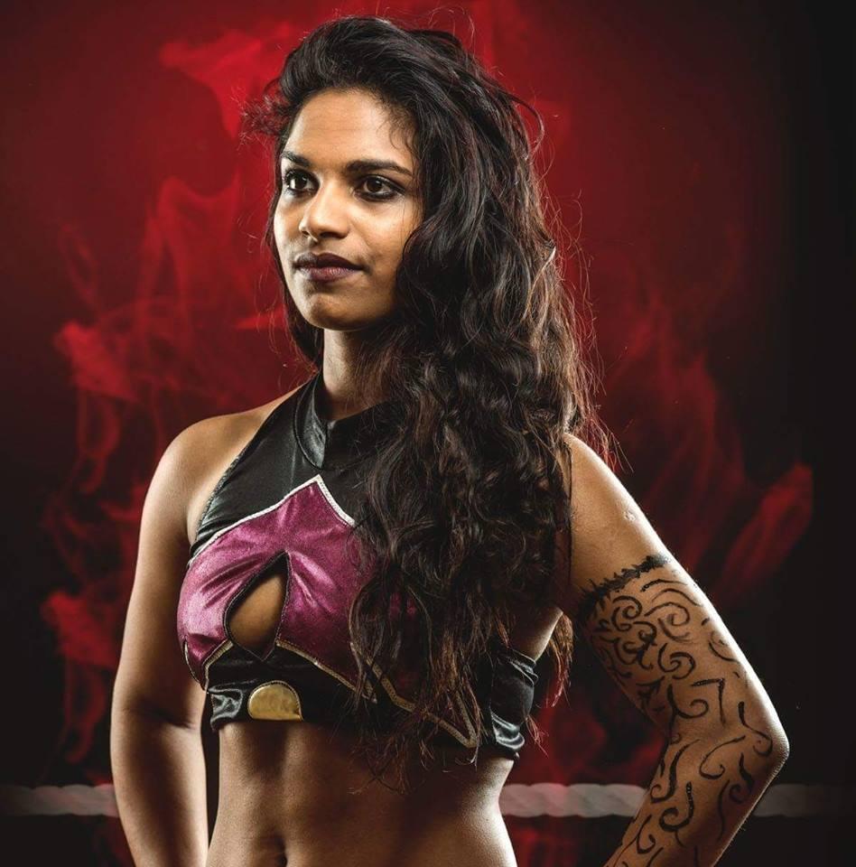 Photo de profil du compte officiel de Jazz Lanka en tenue de catch 948x960