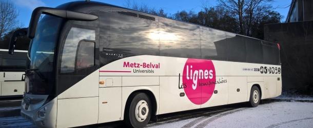 Pour les étudiants un trajet Metz/Belval