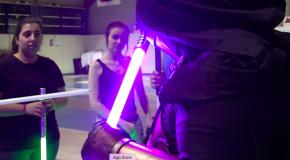 Le maniement du sabre laser, un sport comme les autres