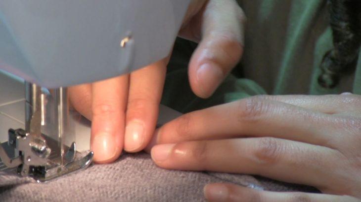 Les étudiants ont découvert des techniques de couture.