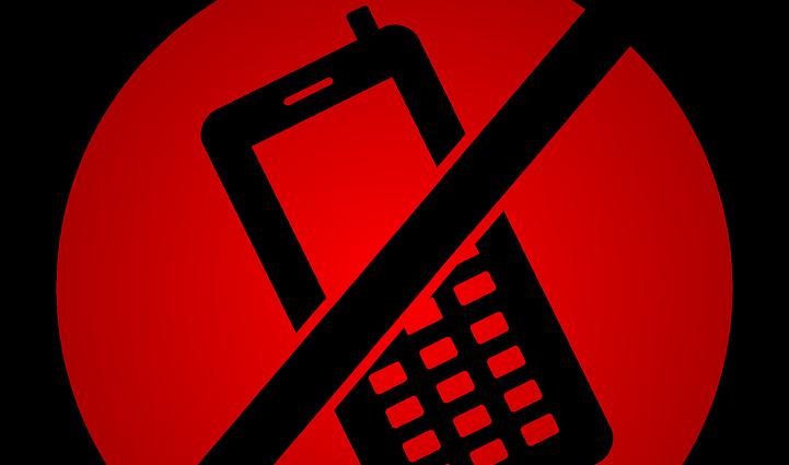 Interdiction téléphones portables