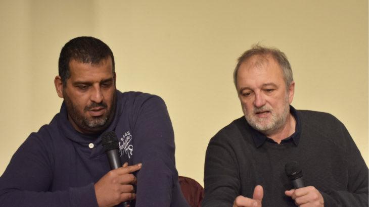 Karim Ben Ali et Denis Robert - conférence Le Lanceur