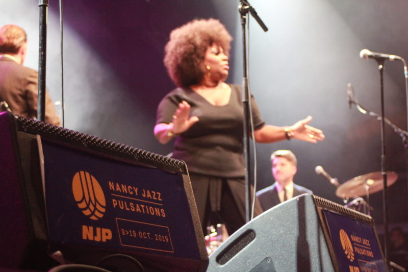 Michelle Davis & The Gospel Sessions - NJP 2019 - Crédit : Laura Bannier